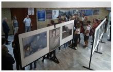 """Отварање изложбе """"Деца у ратовима 1990–1999. године"""": Зрењанин, Културни центар, 11. септембар 2019."""